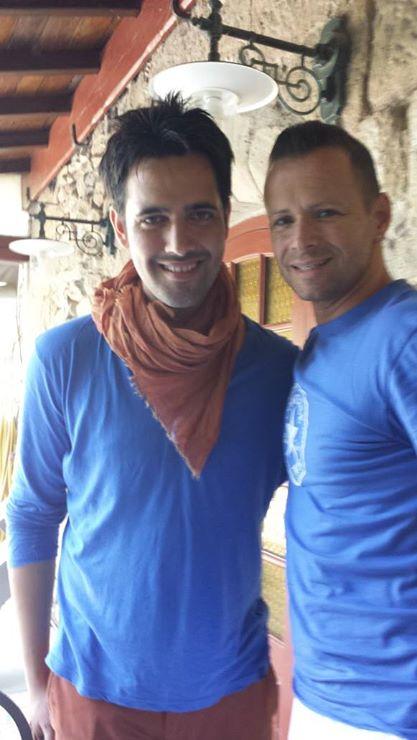 Avec Yohann Freget (gagnant TheVoice 2013)